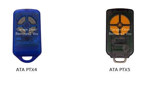 Ata Garage Door Remote Controls