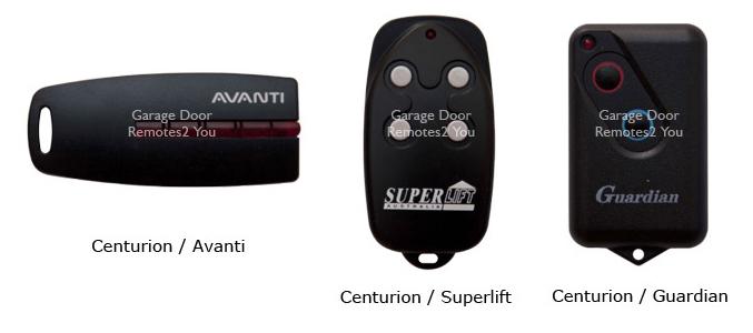 garage door remotesCenturion Garage Door Remote Controls